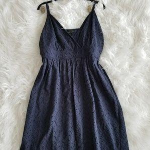 Gorgeous Lane Bryant summer sun dress size 16 navy